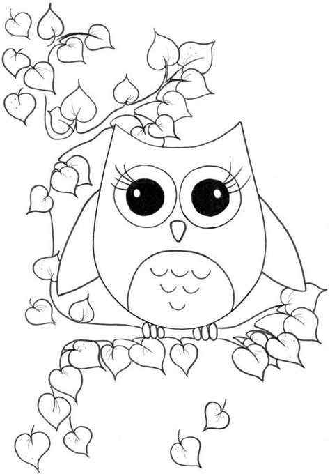 tawny owl coloring page 35 best owls images on pinterest kids net owl and owls