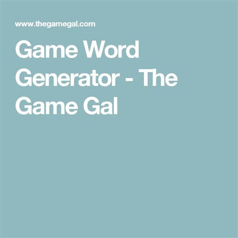 gal word generator the 25 best pictionary words ideas on
