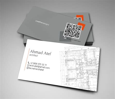 architectural business cards 15 free business card designs for architectures
