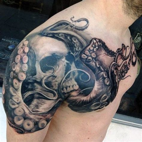 octopus tattoo designs for men top 90 best chest tattoos for manly designs and ideas
