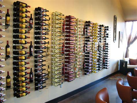 modern wood wine rack