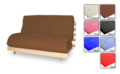 two seater futon sofa bed metro two seater wooden futon sofa bed