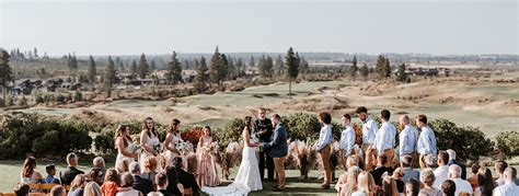 Wedding Planner Oregon by Modern Boho Style Tetherow Wedding In Bend Oregon