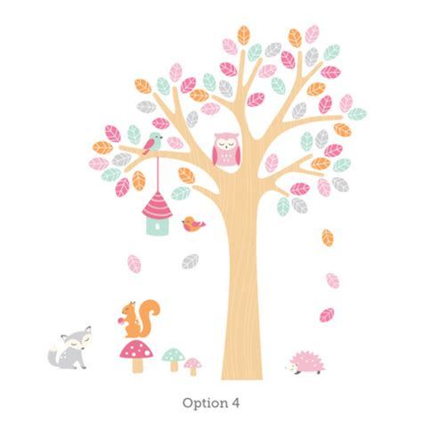 nursery wall stickers tree nursery tree wall sticker for room