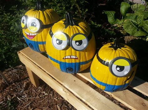 Minion Pumpkin Decorating by Minion Pumpkins Pictures Photos And Images For