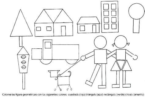 imagenes para colorear con figuras geometricas figuras geom 233 tricas dibujos para colorear ciclo escolar