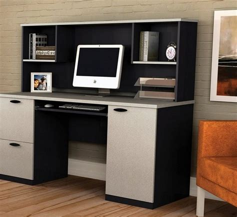 office max computer desk with hutch desk design