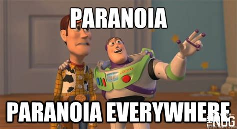 Paranoid Meme - 7 truly terrifying moments for people who smoke weed the nug