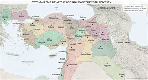ottoman empire provinces the middle east the way it is and why
