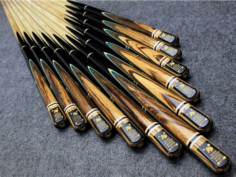 Handmade Pool Cues Uk - handmade 4 american andiroba and congo zebrawood ash