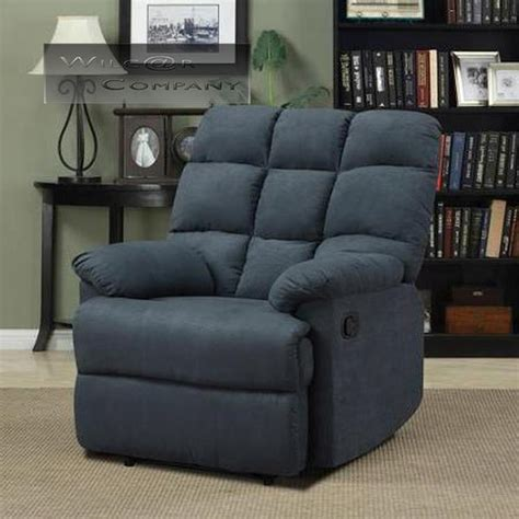 Wall Hugger Recliners Lazy Boy by New Blue Microfiber Recliner Lazy Chair Wall Hugger