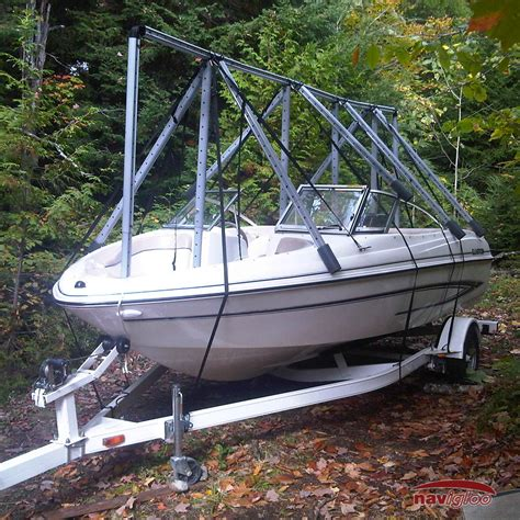 fishing boat covers cover for fishing runabout 14 18 189 ft without tarp