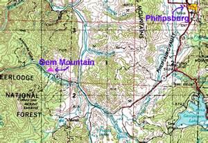 Garnet Mt gem mountain and spokane bar sapphires in montana