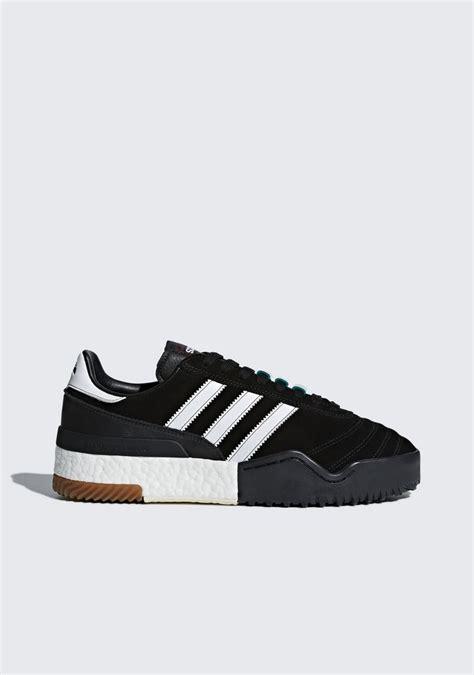 adidas originals by wang adidas by wang basketball soccer sneakers in black