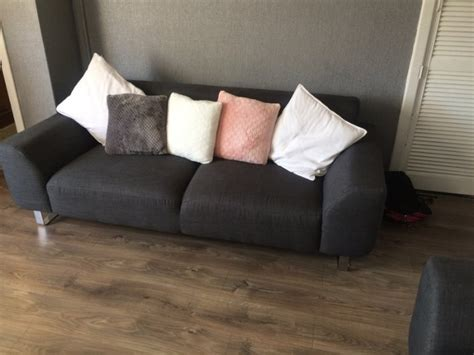 dfs collect old sofa dfs hardy 2 3 seater sofa 9 months old for sale in