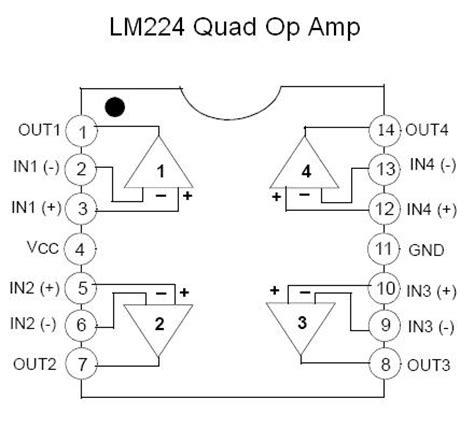 lm quad op amp smt kit  smt pcb  nightfire