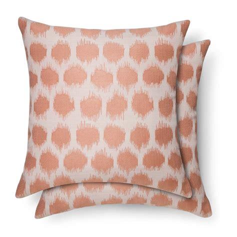 Threshold Decorative Pillow - 2pk throw pillows dot threshold ebay
