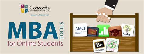 Mba Usa Tools by Mba Tools For Students Concordia