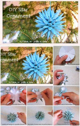 How To Make Paper Ornaments Step By Step - how to make paper ornament step by step usefuldiy