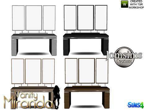 Vanity Artist Jomsims Miranda Vanity Mirror Table