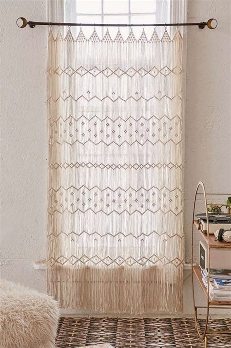 home outfitters drapes best 25 macrame curtain ideas on pinterest hanging door