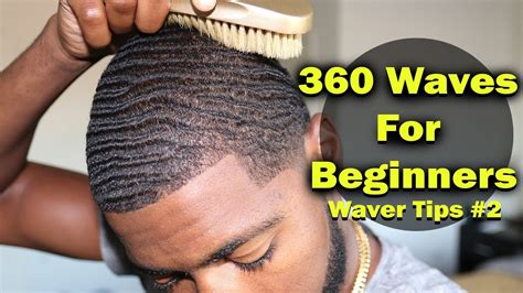 how to make your hair nappy without a sponge how to get 360 waves for beginners nappy coarse hair