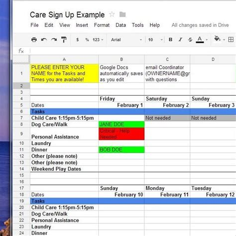 dictionary template for google docs how to use google docs for online sign up sheets whatever