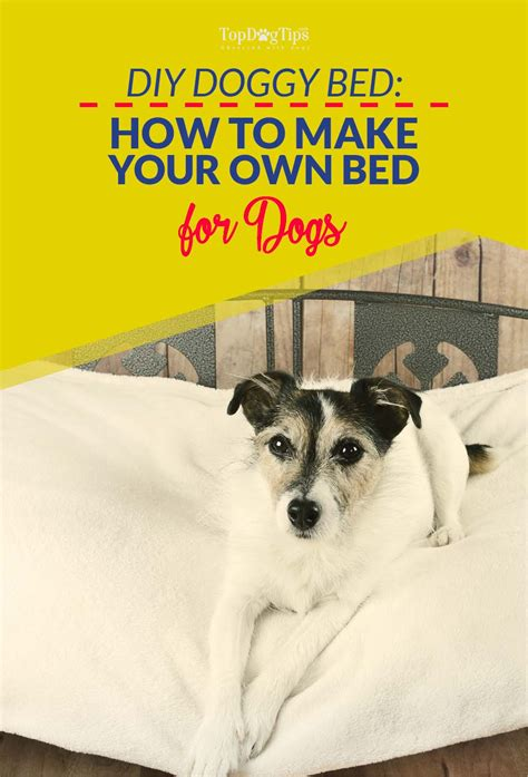 diy dog r for bed 7 diy dog bed project ideas best quot how to to make quot guides