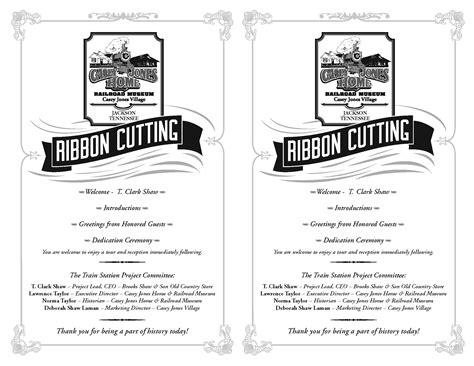 casey jones village museum ribbon cutting bwcreative
