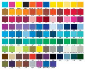 colors chart pantone s extensive color chart color charts meaning