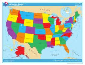 colored united states map usa state maps interactive state maps of usa state maps