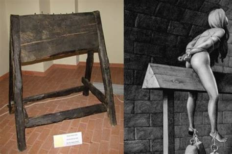 wooden horse torture 20 of the most sadistic torture methods ever devised