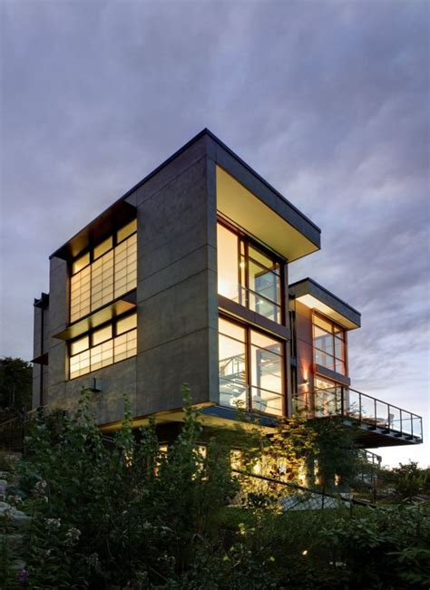 home design major contemporary residence in seattle with 180 degree views of