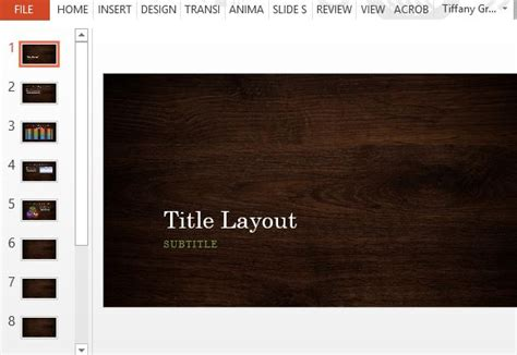 powerpoint design wood wood design powerpoint templates