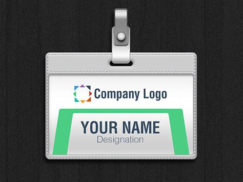 id card template psd file free free id card vector mockup psd file