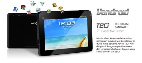 Hp Tablet Advan Murah tablet murah advan vandroid t2ci kata kata sms