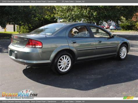 2002 Chrysler Sebring Sedan by 2002 Chrysler Sebring Lxi Sedan Onyx Green Pearl