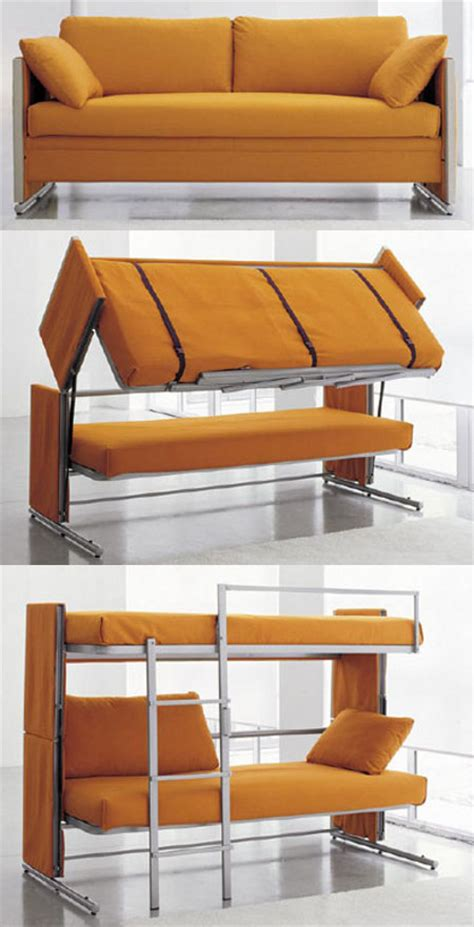 a couch that turns into a bunk bed transfurniture couch turns into bunk bed geekologie