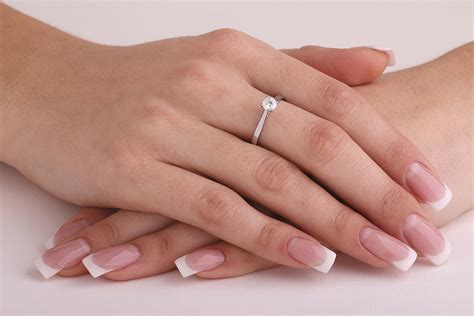 Verlobungsring Brillant by Cut Solitaire Ring In Platinum Pd459pl