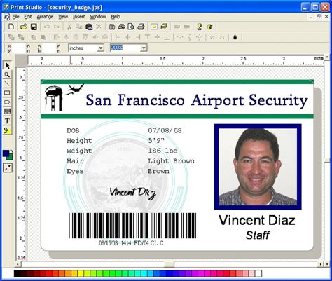 identity card software free print studio photo id card software 6 7 id card