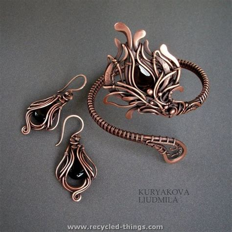 wire jewelry stylish wire jewelry ideas recycled things