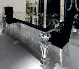 black glass dining room furniture image