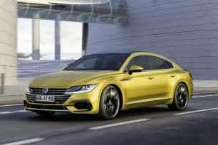 volkswagen arteon takes on bmw 4 series gran coupe