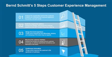 your customers customer experience management in telecommunications books bernd s 5 steps for customer experience management