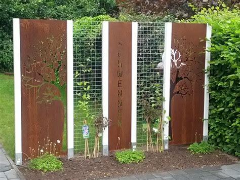 Garten Deko Metall Rost by Rost Dekoration Garten Hugo Gartendeko Haus Und Gartendeko