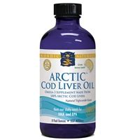 Cod Liver Detox by Arctic Cod Liver 8 Oz Lemon By Nordic Naturals