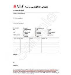 Rfi Transmittal Letter G Series Contract Administration And Project Management Forms Aia Bookstore