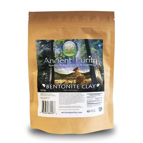 Bentonite Clay Detox Cancer by Organic Calcium Bentonite Clay