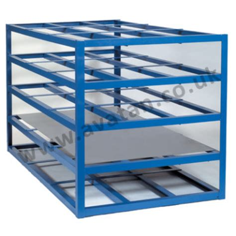 Sheet Rack by Horizontal Sheet Rack For Steel Storage Avatan