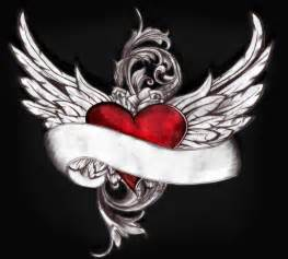 Flying Heart Tattoo Designs » Home Design 2017